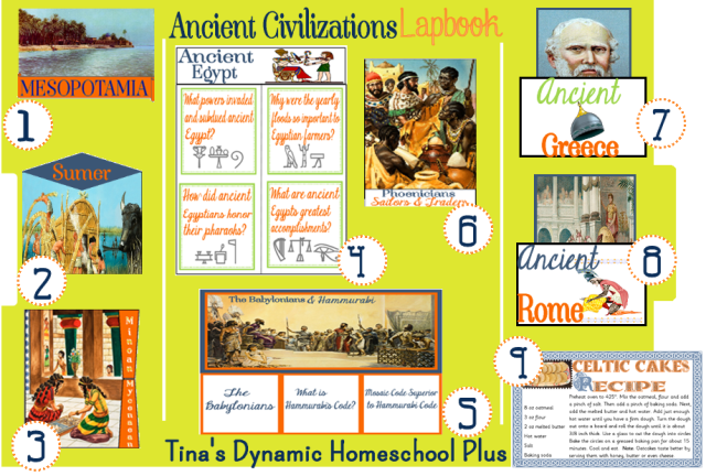 Ancient-Civilization II Lapbook. It covers some of the great empires.