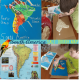 South America Geography Salt Dough Map @ Tina's Dynamic Homeschool Plus