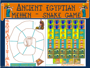 Ancient-Egypt-Collage-Snake-Game-