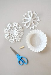 CP snowflakes coffee filters