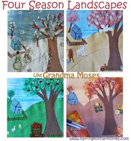 Four Season Landscapes 1 50 Keep Me Homeschooling Activities During the Long Cold Winter Days