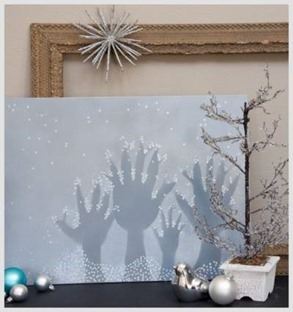 diy winter wonderland art thumb 50 Keep Me Homeschooling Activities During the Long Cold Winter Days