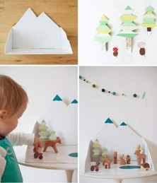 winter forest diy diorama thumb 50 Keep Me Homeschooling Activities During the Long Cold Winter Days