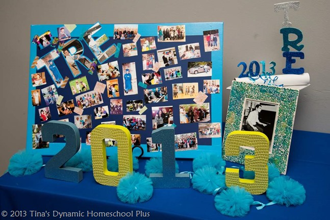 Graduation Table Decoration Ideas Day 6. DIY Decoration Ideas. Part 1. 10 days of Planning A Homeschool ...