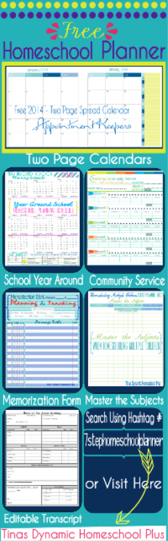My Free 7 Step Homeschool Planner Update