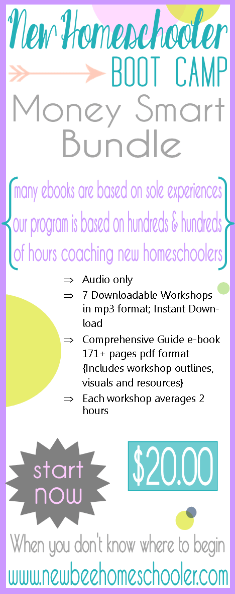 Money Smart Bundle 31 Day Free Homeschool Boot Camp