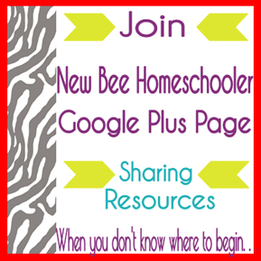Google Plus Page New Bee Homeschooler - New Bee Blog