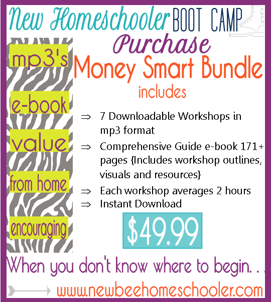 New Bee Homeschooler Bootcamp Money Smart 31 Day Free Homeschool Boot Camp