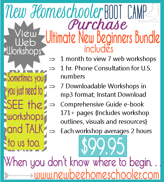 New Bee Homeschooler Bootcamp Ultimate New Beginners Bundle 31 Day Free Homeschool Boot Camp
