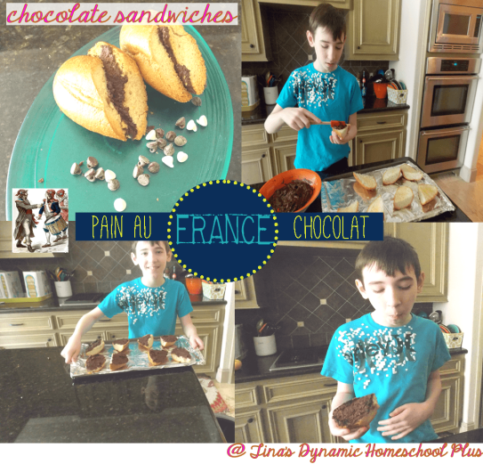 Pain Au Chocolat from France