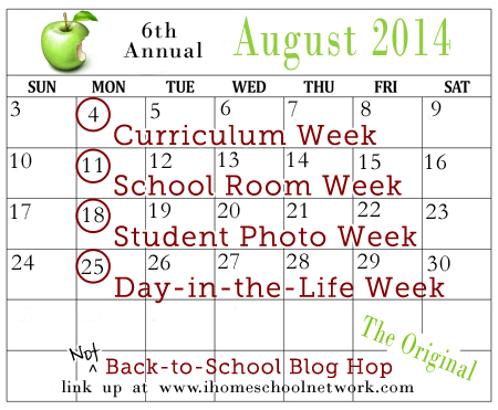 nbts blog hop calendar 2014 50 Free History Unit Studies–History Lover's Round Up