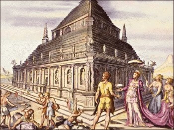 7_seven_ancient_wonders_Mausoleum_of_Halicarnassus