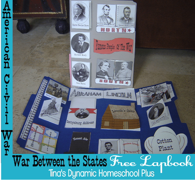 American Civil War Lapbook