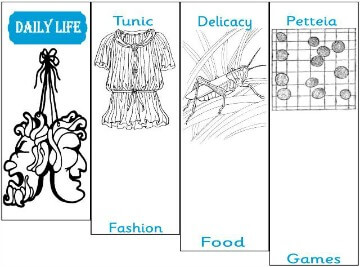 Daily Life in Ancient Greece Minibook @ Tina's Dynamic Homeschool Plus