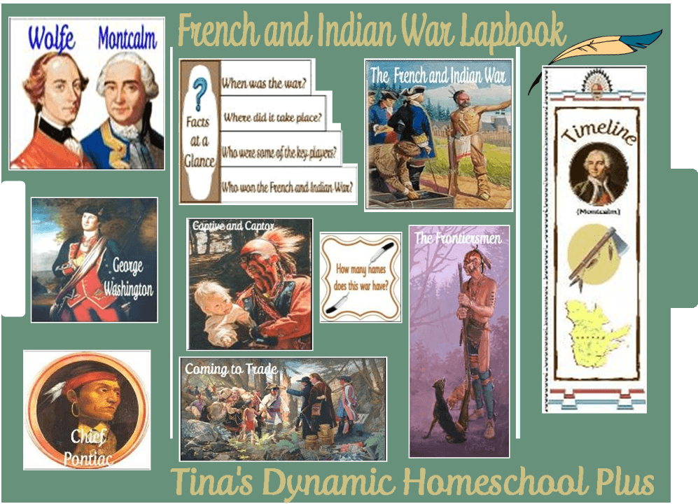 French and Indian War Lapbook | Tina's Dynamic Homeschool Plus