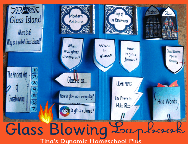 Glass Blowing Lapbook Glass Blowing