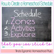 How To Create A Homeschool Schedule That You Can Stick to