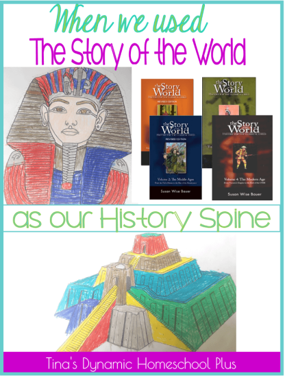 When we used The Story of the World as our History Spine
