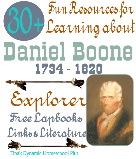 Look below at these ideas for studying about Daniel Boone and about ...