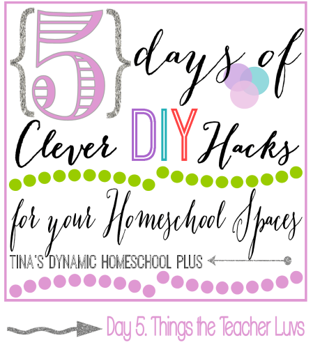 5 Days of Clever DIY Hacks for Your Homeschool Spaces Day 5 Things the Teacher Luvs thumb 5 Days of Clever DIY Hacks for Your Homeschool Spaces Day 5 Things the Teacher Luvs