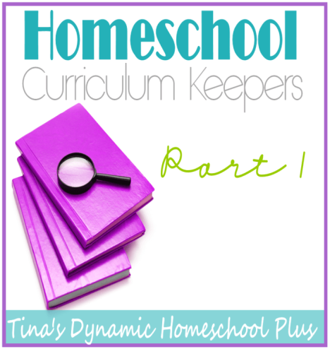 Homeschool Curriculum Keepers thumb Homeschool Curriculum Keepers Part 1