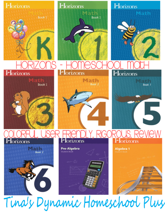 Horizon Homeschool Math thumb Homeschool Curriculum Keepers Part 1