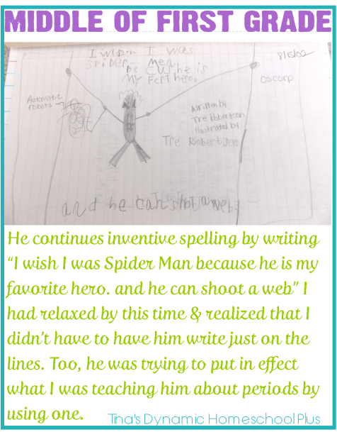 Teaching Handwriting When Homeschooling the Early Years Part 3 Middle of First Grade 2 thumb Teaching Handwriting When Homeschooling the Early Years Part 3