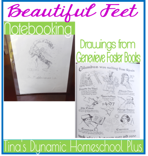 Beautiful Feet thumb 5 Days of Learning Printables:The World of Columbus and Sons Day 5 For Middle and High School