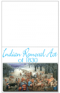Indian Removal Act Minibook