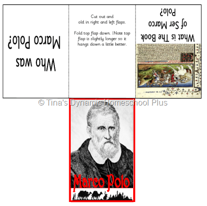 Marco Polo thumb 5 Days of Learning Printables:The World of Columbus and Sons Day 4 For Middle and High School