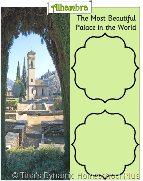 NB Alhambra thumb 5 Days of Learning Printables:The World of Columbus and Sons Day 5 For Middle and High School