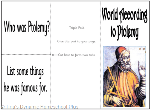 World According to Potlemy thumb 5 Days of Learning Printables:The World of Columbus and Sons Day 4 For Middle and High School