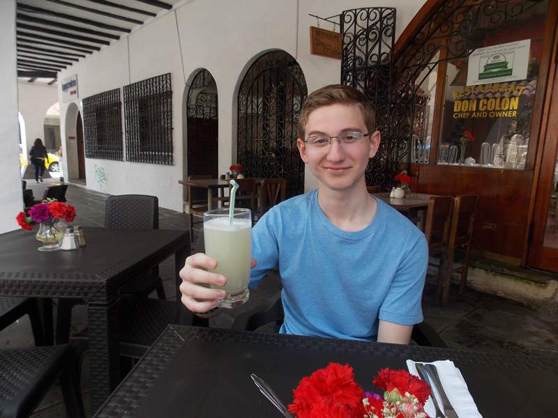 embracing the local drink 5 Things I Love About Cuenca Ecuador