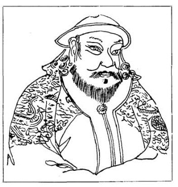 Kublai Khan Coloring Page @ Tina's Dynamic Homeschool Plus