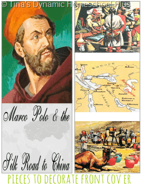 Marco Polo Cover Pieces for Lapbook or Notebook Tinas Dynamic Homeschool Plus