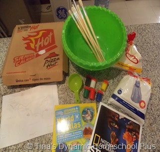 Marco Polo Salt Dough Map Step 1 @ Tina's Dynamic Homeschool Plus