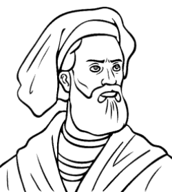 Printable Marco Polo Coloring Page @ Tina's Dynamic Homeschool Plus