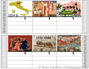 Timeline of Exploration Marco Polo @ Tina's Dynamic Homeschool Plus