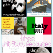Toddler to Teen 100 Free Unit Study Resources