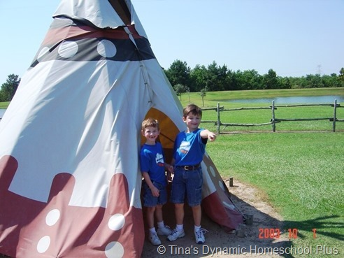 Learn in Tents When Homeschooling