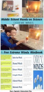 Middle School Science Hands-on Science Extreme Winds @ Tina's Dynamic Homeschool Plus-1