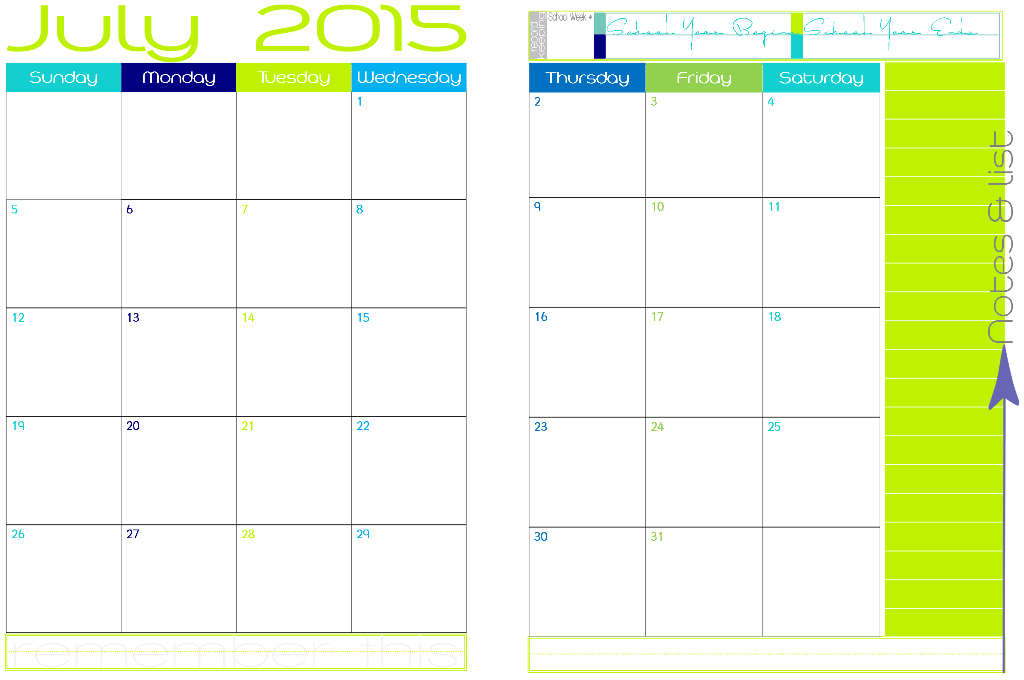 ... to 2016 Academic Year Around School – 2 Page Spread Appointment
