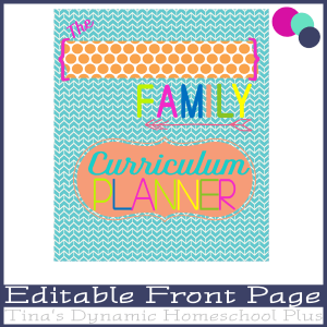 Editable Cover Coral 600x @ Tina's Dynamic Homeschool Plus