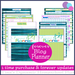 Forever Blog Planner 600x @ Tina's Dynamic Homeschool Plus