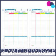 Glam it Up Package 600x @ Tina's Dynamic Homeschool Plus