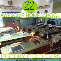 22 Awesome Homeschool History Field Trips. Bring history alive through interactive learning @ Tina's Dynamic Homeschool Plus FEATURED