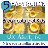 5 Easy and Quick Breakfasts that Kids Will Actually Eat (Grab the Egg McMuffin Recipe) feature