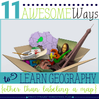 11 Awesome Ways to Learn Geography (Other Than Labeling a Map) featured