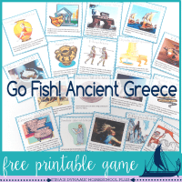 Free Ancient Greece Go Fish game featured