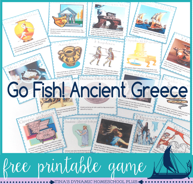 Free Ancient Greece Go Fish game